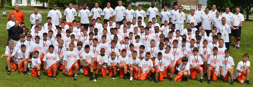 Bill Cronin and his staff welcomed the 2011 Speed & Agility Campers.