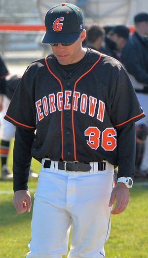 Micah Baumfeld has been officially named the head coach for Georgetown College's baseball team. Photo by Richard Davis