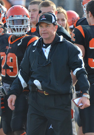 Bill Cronin is named as one of the AFCA Region Coach of the Year honorees. Photo by Richard Davis