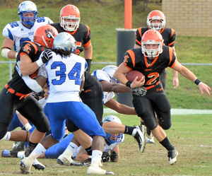 Tiger football announces summer camp offerings. Photo by Richard Davis.