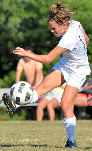 Anna Ayers scored three goals as GC beat Cumberlands 5-2 Tuesday. Photo by Richard Davis