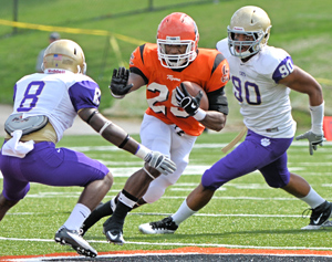 Georgetown College beat Bethel 63-21 on Sept. 29 this season. Photo by Richard Davis