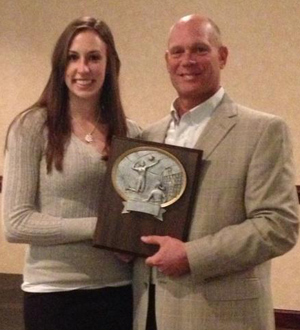 Sophomore Rachel Eubanks earned MSC Player of the Year honors Thursday.