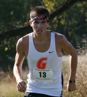 Cole Cisneros won the Kentucky State University meet this past weekend.