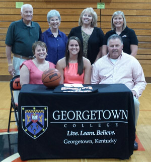 Franklin County High School standout and Samford transfer signed Wednesday with Georgetown College.