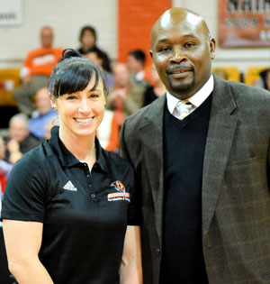 Georgetown College welcomes Alicia Castagneto. Photo by Richard Davis