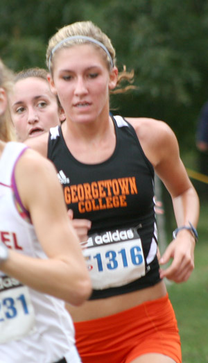 Tayler Godar wins meet at Shawnee, earns Runner of the Week honors.
