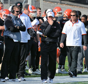 Tiger coaching staff added 37 freshmen and seven upperclassmen on signing day. Photo by Richard Davis