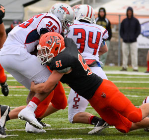 Tigers defense has been stellar this season, helping the team reach postseason play to start Saturday. Photo by Richard Davis