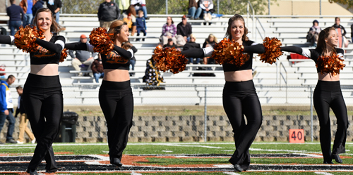Dance team will be holding tryouts soon. Photo by Richard Davis