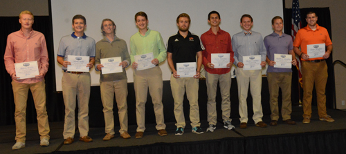 Nine Tigers were named to the MSC All-Academic honoree list. Photo by Richard Robards.