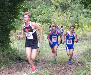 Jacob Hanser finished first for Tigers Saturday at Centre Invitational.