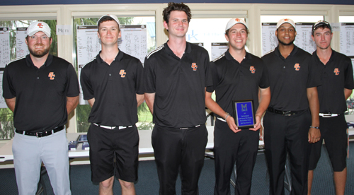 GC men's golf receives second place title in Eagle Invitational. Photo submitted