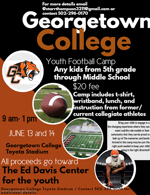 Georgetown College - 2019 Camps