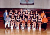 1993 Lady Tigers Baseketball Team