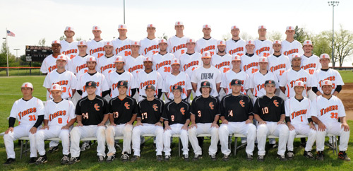 Georgetown College 2012 Baseball Roster