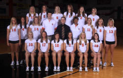 The NAIA National Volleyball Runner-Up, the Georgetown College Tigers.